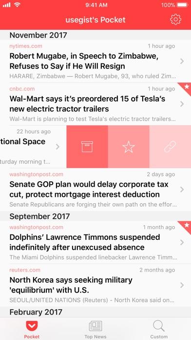 Gist - News Summaries screenshot1