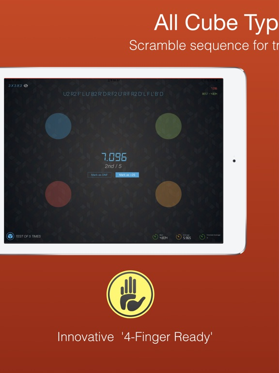 Cutimer Pro: Cube Timer Rubiks Screenshots