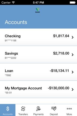 Valliance Bank Mobile Banking screenshot 3