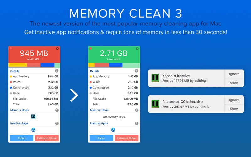 Memory Clean 3 Screenshot - 3