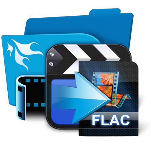 將視頻或音頻轉換為 FLAC 音頻格式 AnyMP4 FLAC Converter   for Mac