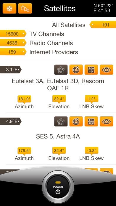SatFinder Pro Screenshots