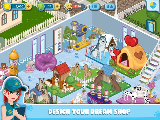 Screenshots of Pet City for iPad
