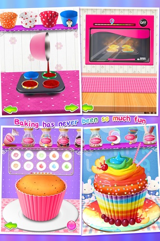 Cupcake Maker Salon screenshot 3