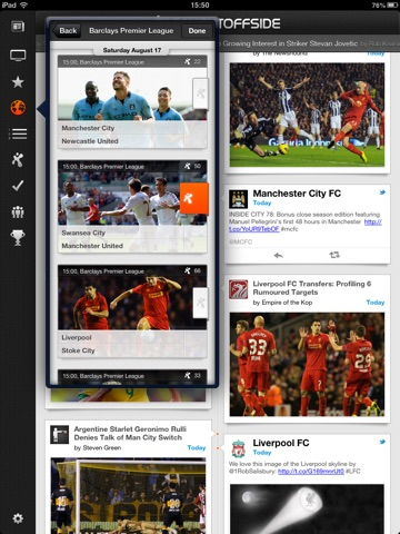 Caught Offside for iPad screenshot 3