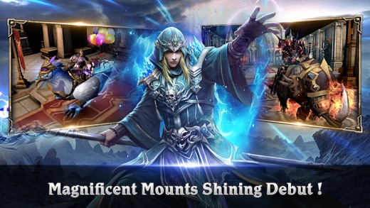Clash for Dawn - MMORPG with 45VS45 PVP Screenshot