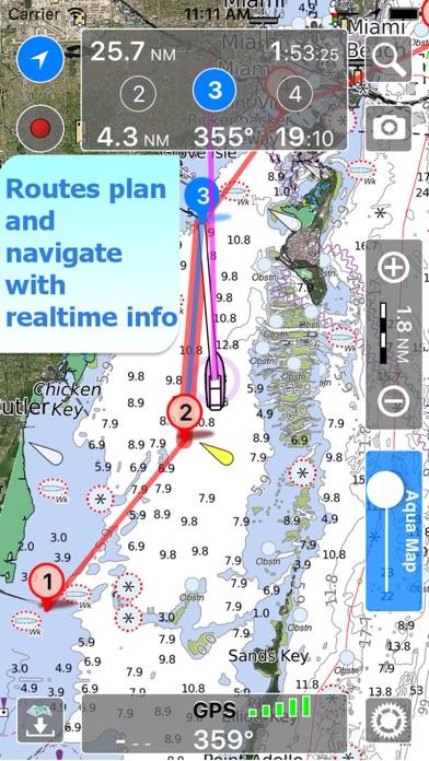 download Aqua Map Kansas Lakes GPS HD apps 0