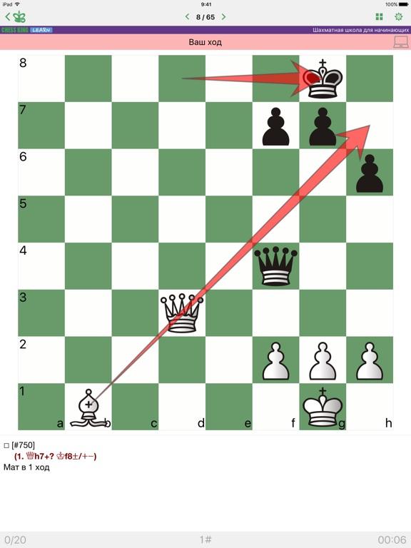Шахматная школа для начинающих на iPad