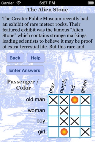 iDetectiveLt Logic Puzzles screenshot 2