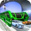 運転 学校 上昇した バス 3D