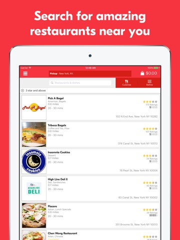 Grubhub – Order Food Delivery screenshot 1