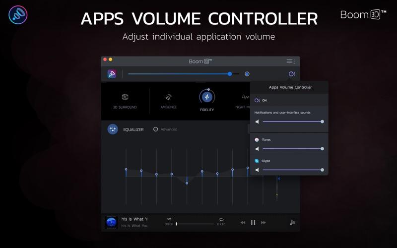 Boom 3D: The Best Virtual Surround Audio Screenshots
