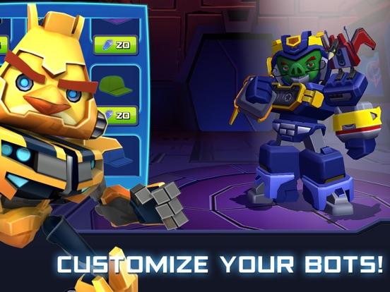 Angry Birds Transformers Screenshots