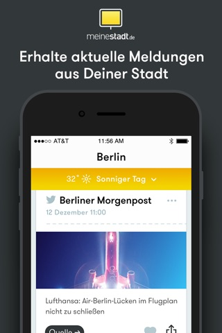 meinestadt.de screenshot 2