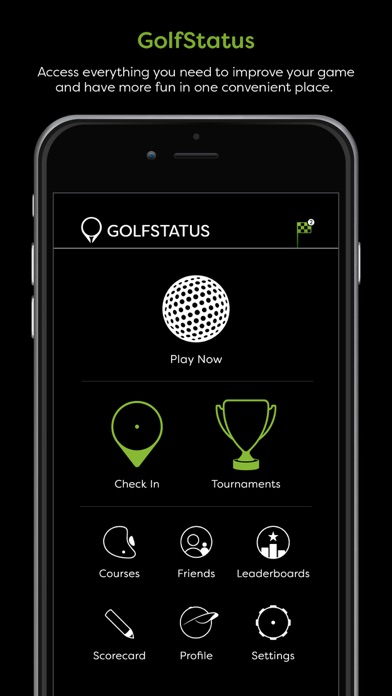 golfstatus on the app store. Black Bedroom Furniture Sets. Home Design Ideas