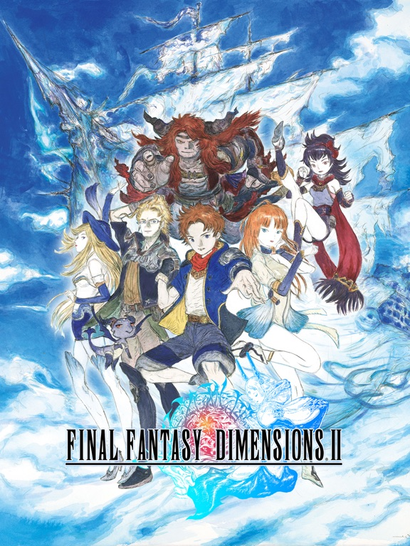 Screenshot 1 FINAL FANTASY DIMENSIONS II