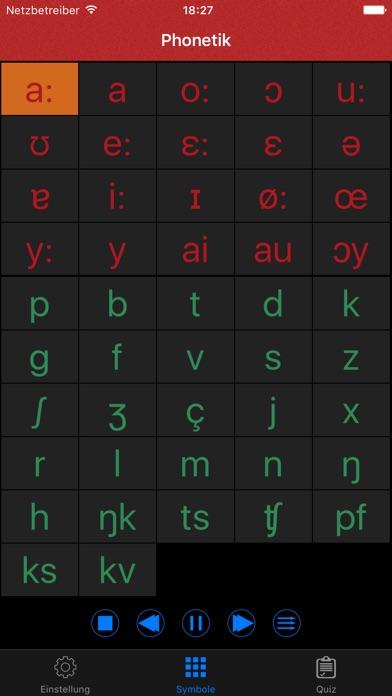 Deutsche Alphabet Aussprache Screenshot