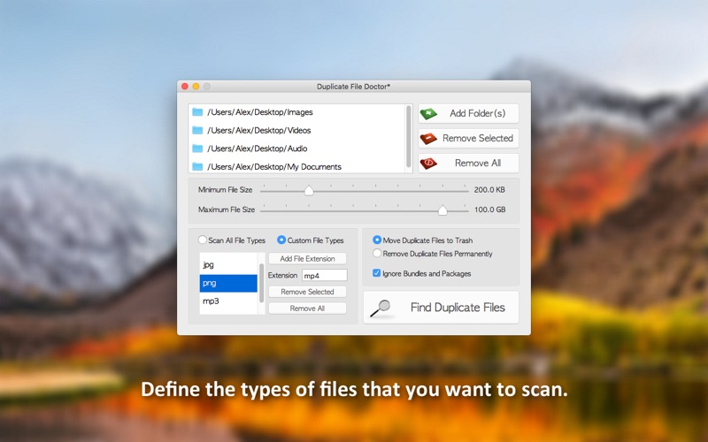 Duplicate File Doctor Screenshots