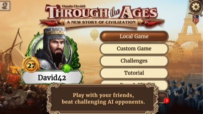Through the Ages iOS Screenshots