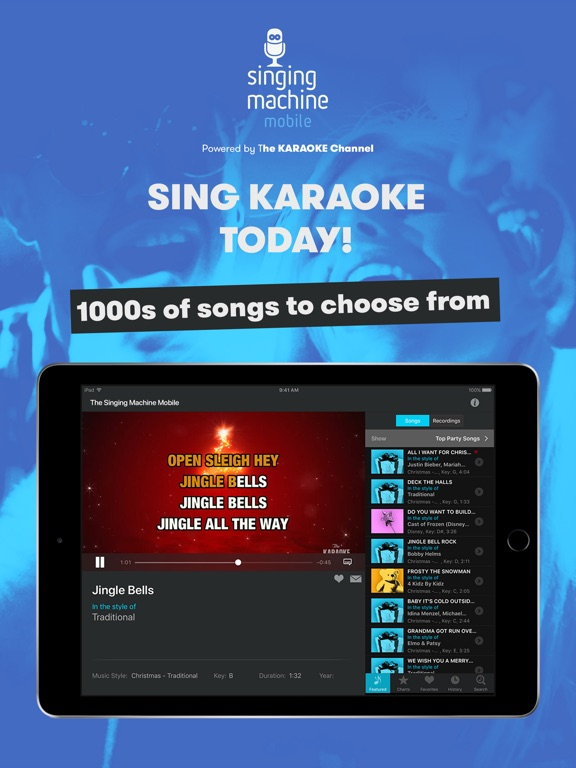 how to download karaoke songs for singing machine