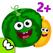 재미있는 음식 학습 게임! 유아 및 유치원 교육