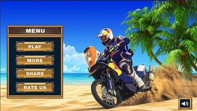Water Surfer Beach Bike Rider screenshot 1
