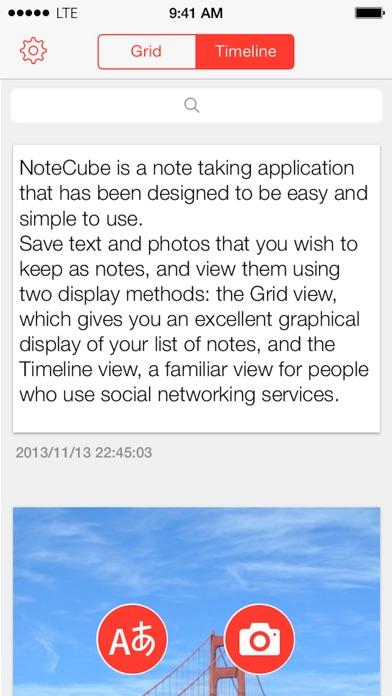 NoteCube Screenshots