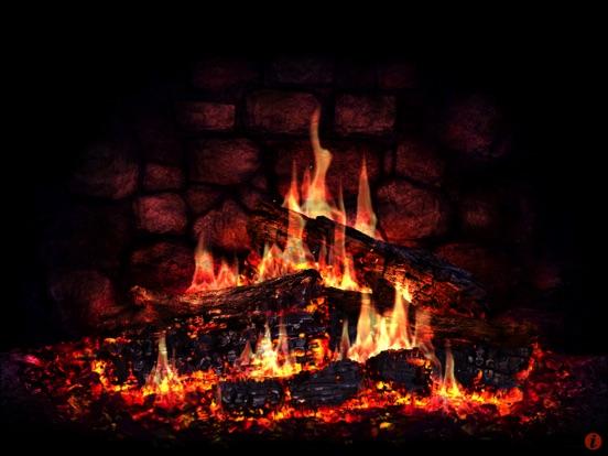 Screenshot #2 for Fireplace 3D Lite