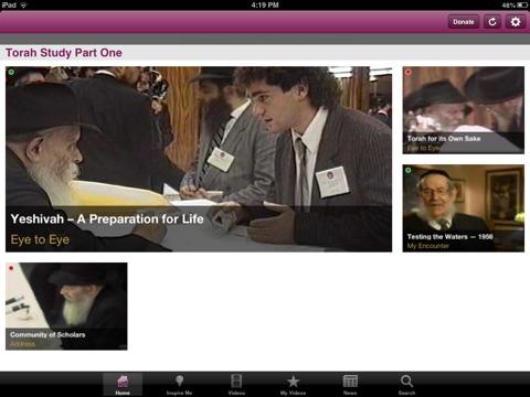 Living Torah for iPad screenshot 3