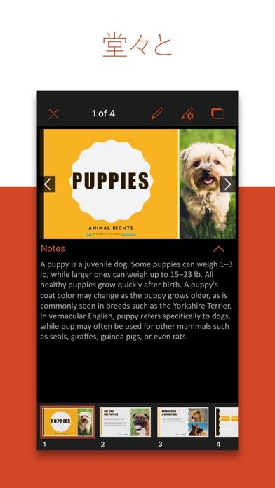 Microsoft PowerPoint Screenshot