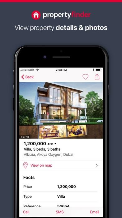 Propertyfinder - Real Estateلقطة شاشة1