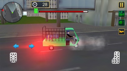 Screenshot of Rickshaw Cargo Transport App