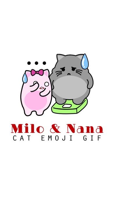 download Milo & Nana - Cat Emoji GIF apps 0