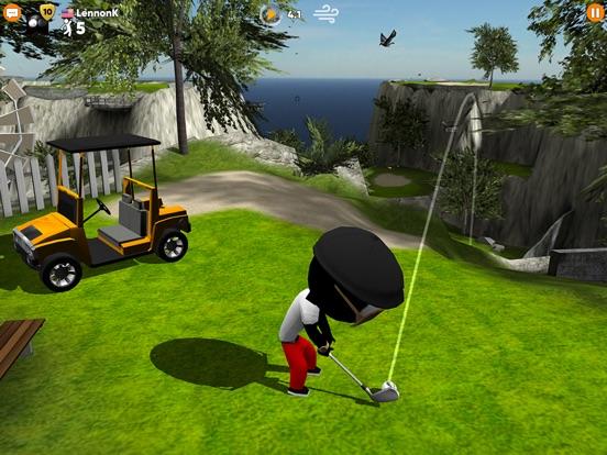 Screenshot 2 Stickman Cross Golf Battle