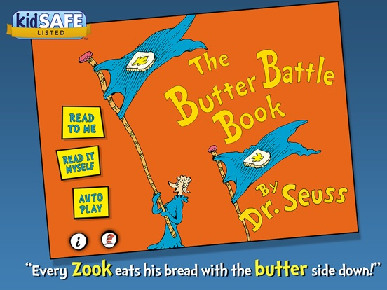 dr seuss the butter battle book analysis