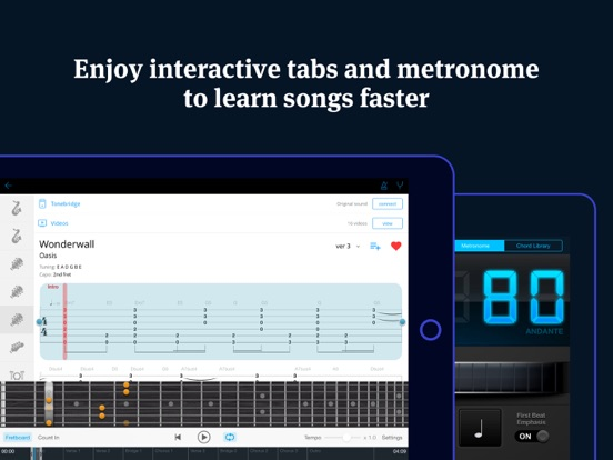 Tabs & Chords HD IPA Cracked for iOS Free Download