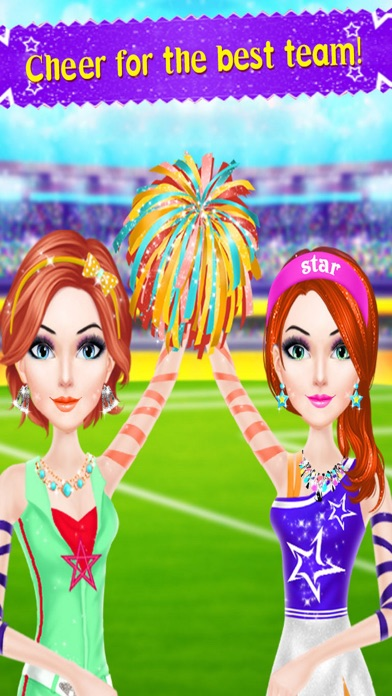 Cheer Leader Princess Salon PRO Screenshot 4