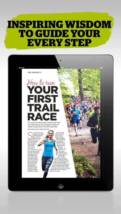 Trail Running Magazine review screenshots