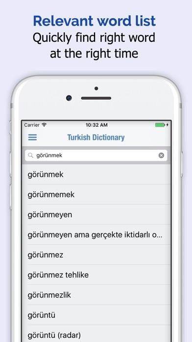Turkish Dictionary截图2