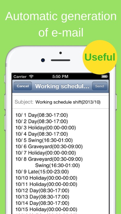 download Shift Planning Calendar appstore review