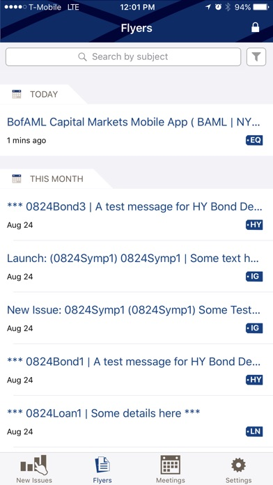 BofAML Capital Markets screenshot 2
