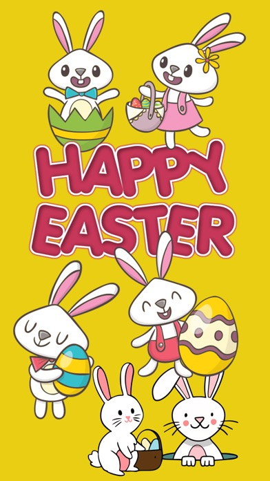 download Easter Rabbit 2018 Stickers apps 1