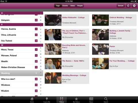 Living Torah for iPad screenshot 2