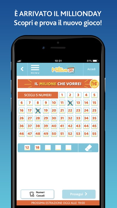 Screenshot of LOTTO Official3