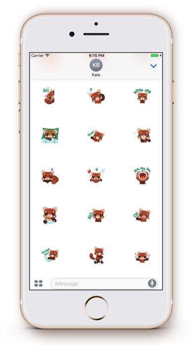 Screenshot of Fox Emoji Stickers3