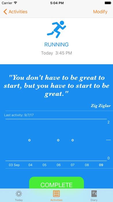 Screenshot #3 for MotivateMe - Your Motivation