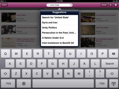 Living Torah for iPad screenshot 4