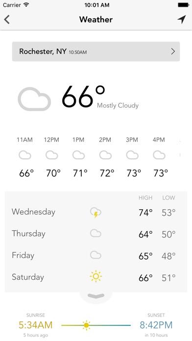 WROC Weather 8 RochesterFirstScreenshot of 2