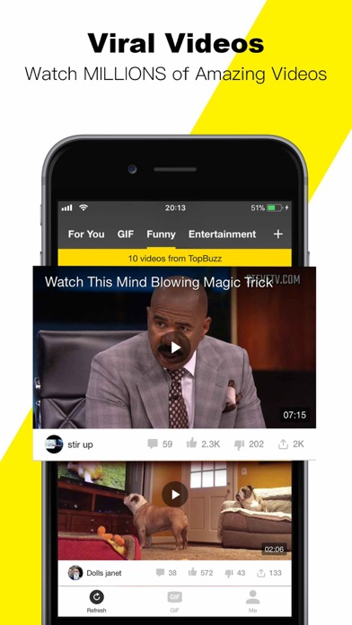 download TopBuzz Video: Videos、TV shows apps 3