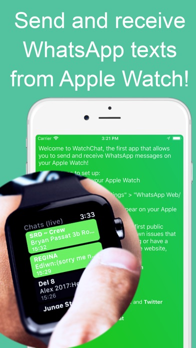 WatchChat for WhatsApp screenshot 1